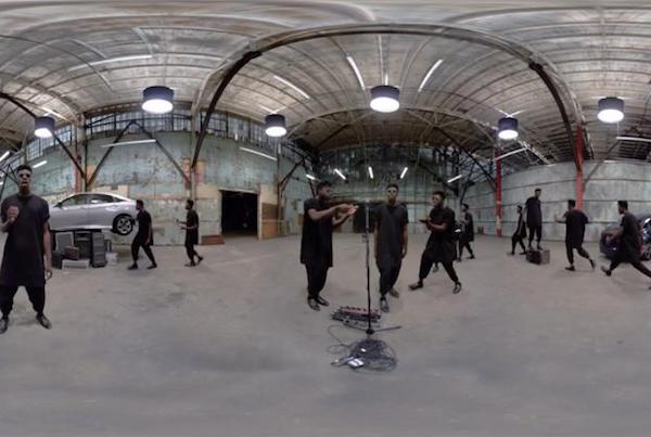 Music From Every Angle |  Honda & Moses Sumney | 360 music video